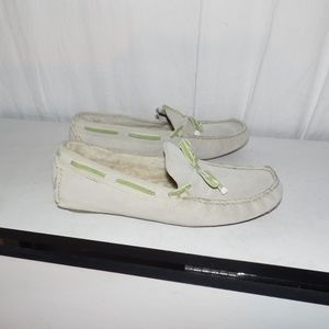 Cole Haan Suede Leather Moccasins Loafers 8 B